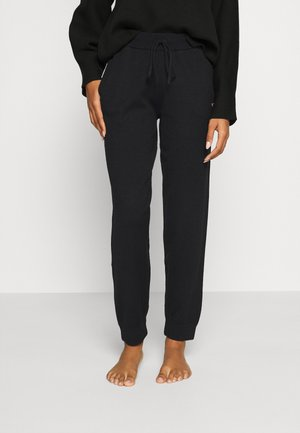 BASIC PANT - Pyjama bottoms - jet black