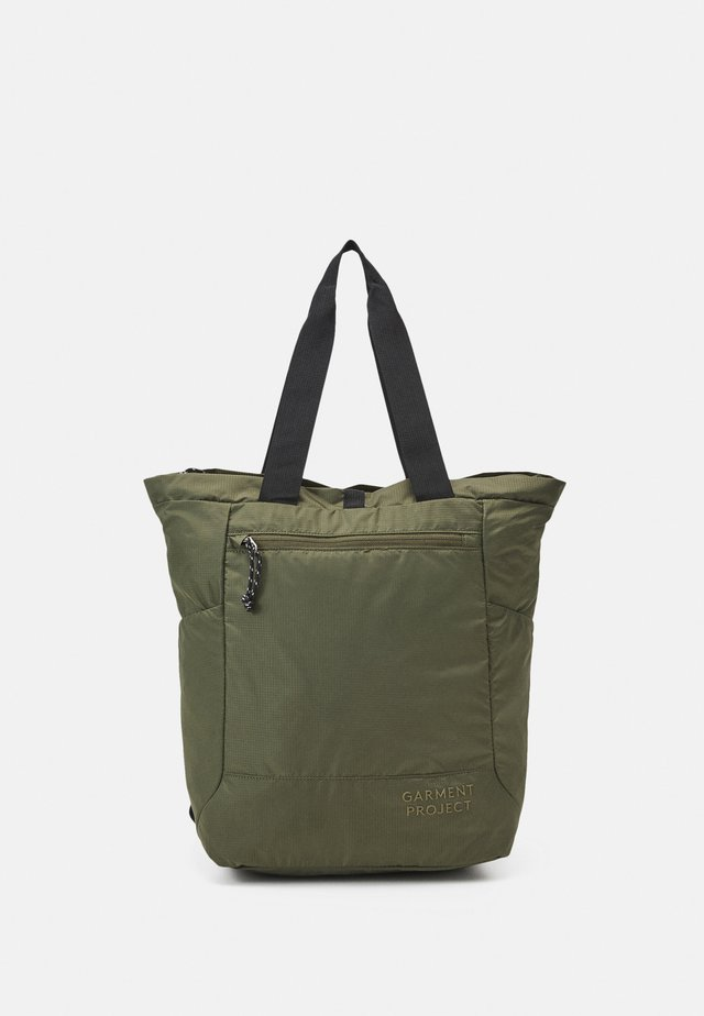 LIGHT TOTE  BAG & BACKPACK - Shopper - army