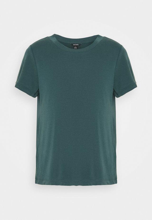 JOLIN  - Jednoduché triko - green dark
