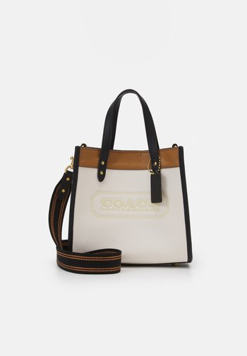 COLORBLOCK BADGE FIELD TOTE WITH CROSSBODY - Kabelka - chalk/multi