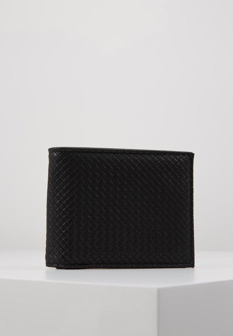 Burton Menswear London - DIAMOND EMBOSS WALLET - Wallet - black