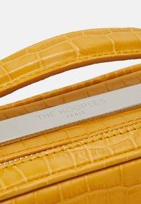 The Kooples - BARBARA - Across body bag - yellow - 4