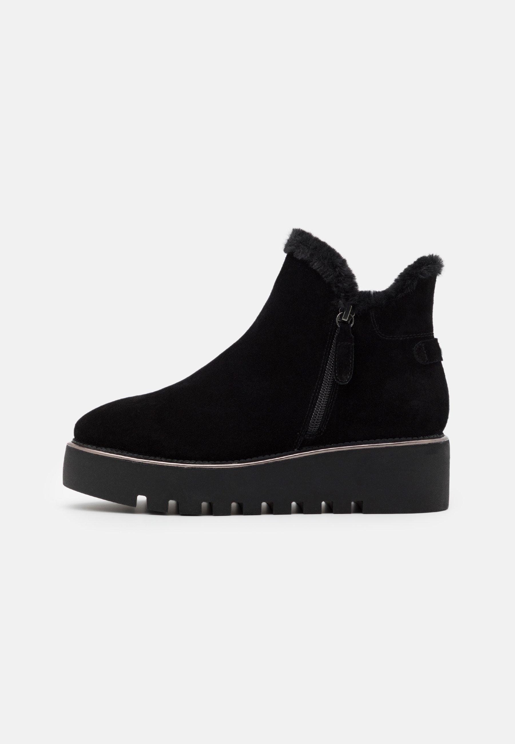 Tamaris Boots - Kilestøvletter Black/svart