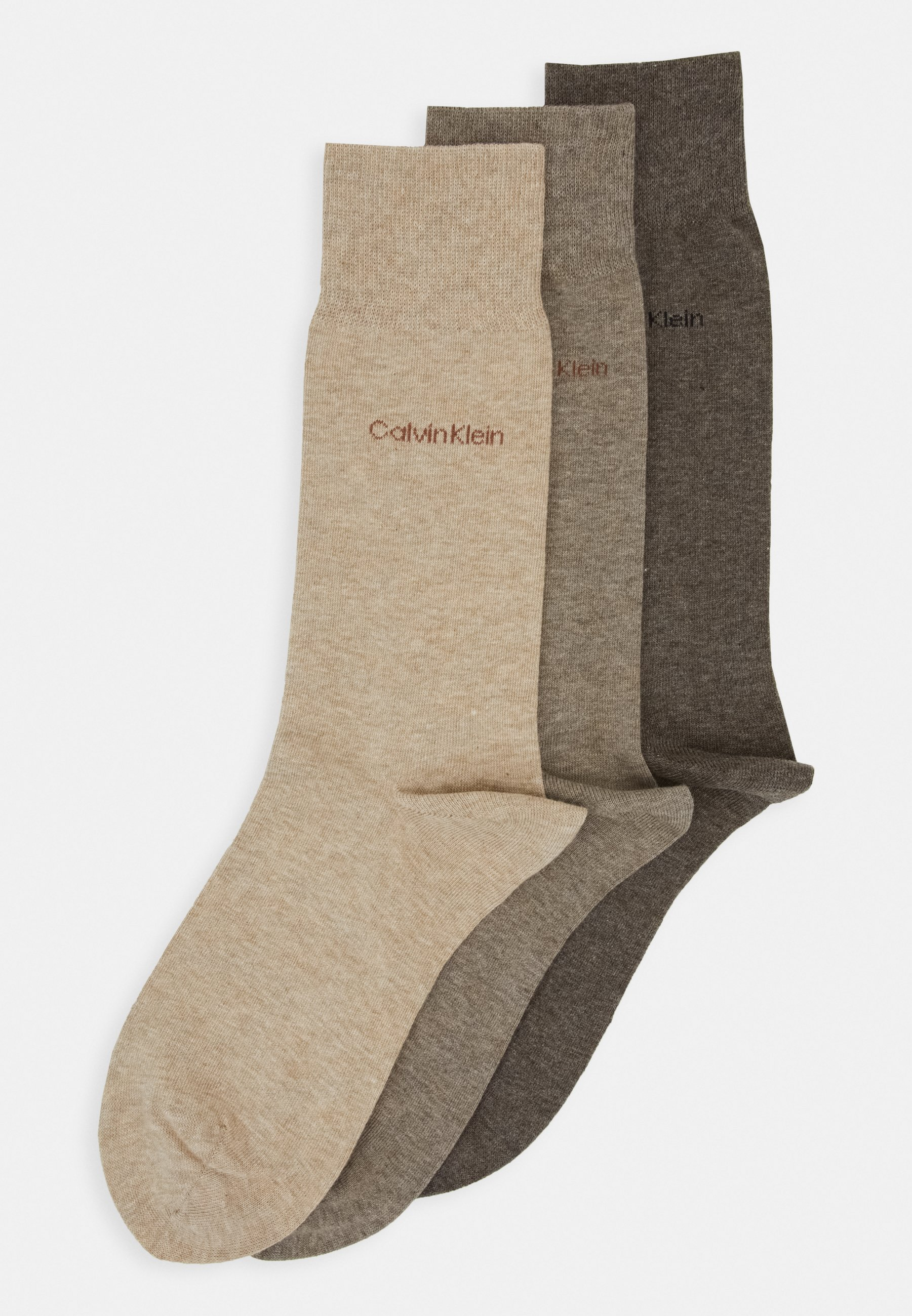 Femme MEN CREW COMBED FLAT ERIC 3 PACK - Chaussettes