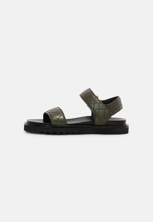 Sandalen - kaki