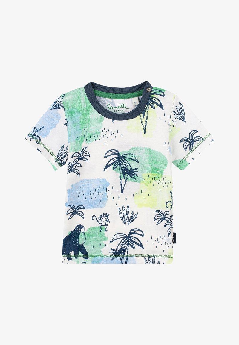 Sanetta Kidswear - Print T-shirt - grün
