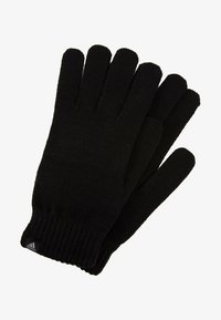 adidas Performance - PERF GLOVES - Guantes - black/black/medium grey smoked - 2
