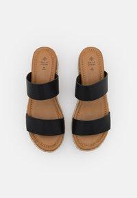 Call it Spring - SAVANNAH - Heeled mules - black - 5