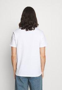 CLOSURE London - STRIPE ANIMAL TEE - Print T-shirt - white - 2