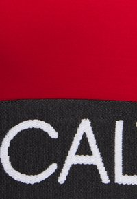 Calvin Klein Swimwear - CURVE BRALETTE PLUS - Bikini top - rustic red - 2