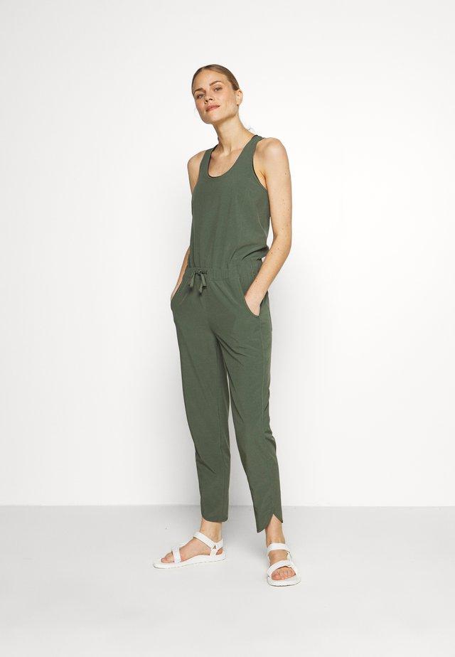 FLEETWITH ROMPER - Dres - kale green