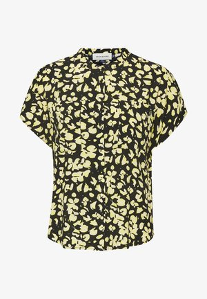 DHFELICIA  - Button-down blouse - black /yellow