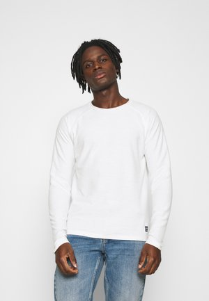 JJETERRY CREW NECK - Pullover - cloud dancer