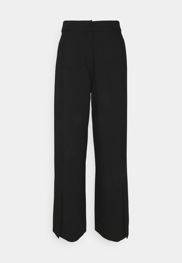 GARTNER PANTS  - Kangashousut - black