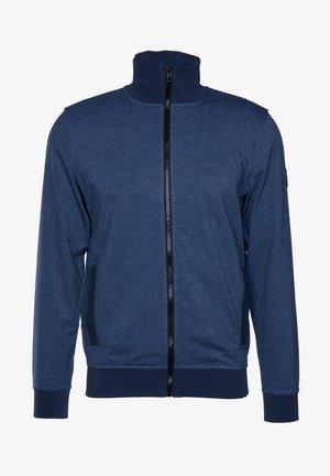 ZESHARK - Zip-up hoodie - dark blue
