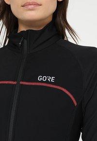 Gore Wear - THERMO  - Training jacket - black/terra grey - 6