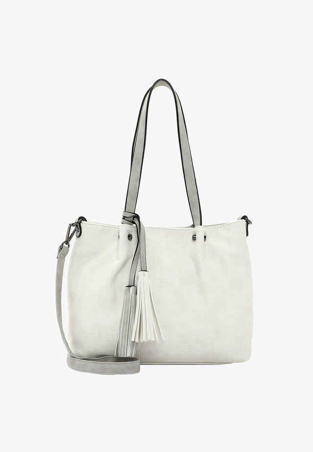 SURPRISE - Shopping bag - ecru lightgrey 328