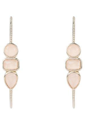Earrings - rose