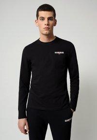 Napapijri - S-ICE LS - Långärmad tröja - black - 0