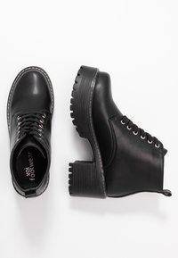 Koi Footwear - VEGAN DL2 - Kotníková obuv - black - 3