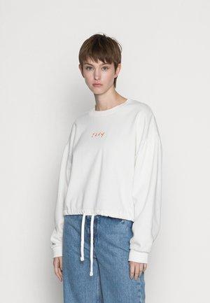 DAYS GO BY CREW - Sweatshirt - snow white