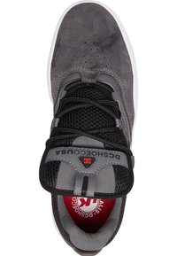 DC Shoes - Skate shoes - GREY/BLACK/RED - 1
