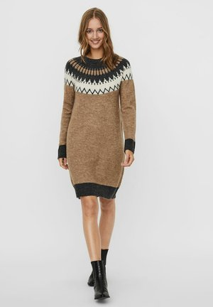 Jumper dress - sepia tint