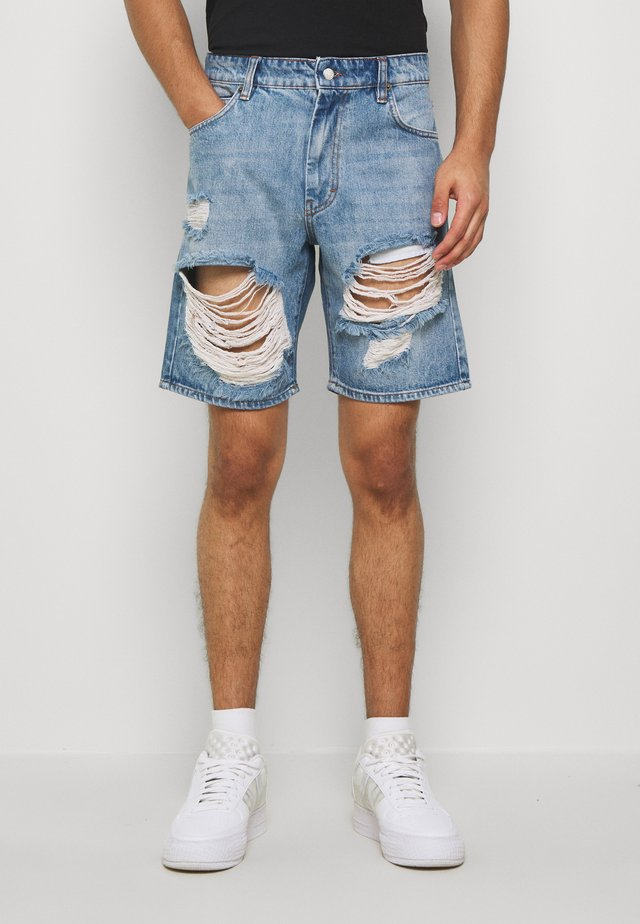 STORM - Jeansshorts - light blue