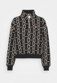 Fila - HONZA HALF ZIP  - Training jacket - black - 0