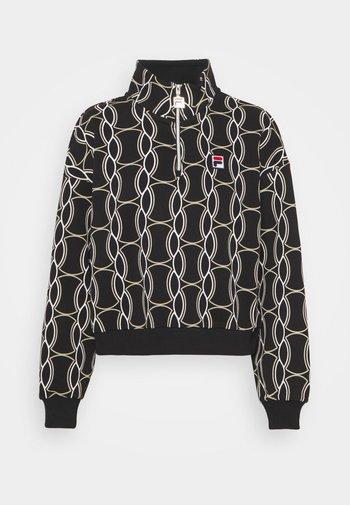 HONZA HALF ZIP  - Training jacket - black
