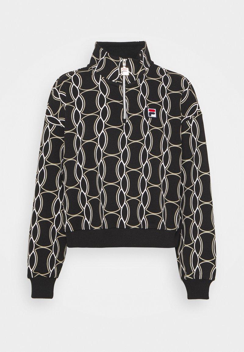 Fila - HONZA HALF ZIP  - Training jacket - black