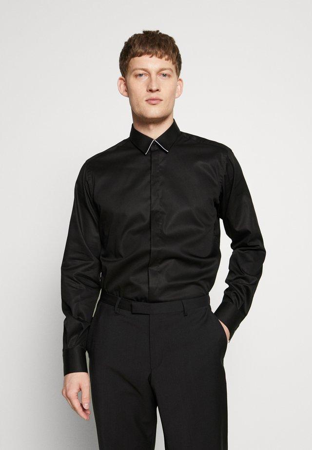 MODERN FIT - Koszula biznesowa - black