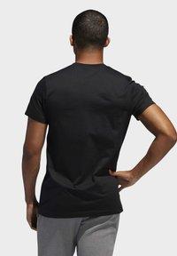 adidas Performance - DAME LOGO T-SHIRT - Print T-shirt - black - 1