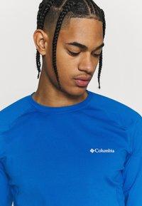 Columbia - OMNI HEAT CREW - Undershirt - bright indigo - 3