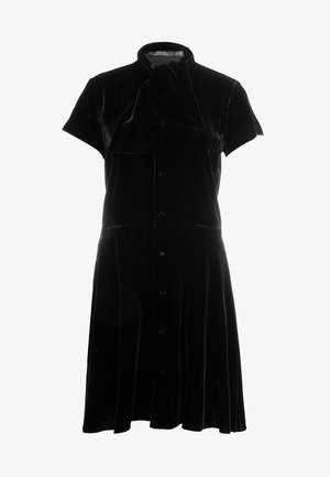 FLUID - Shirt dress - polo black
