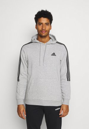 CUT - Sweat à capuche - grey/black