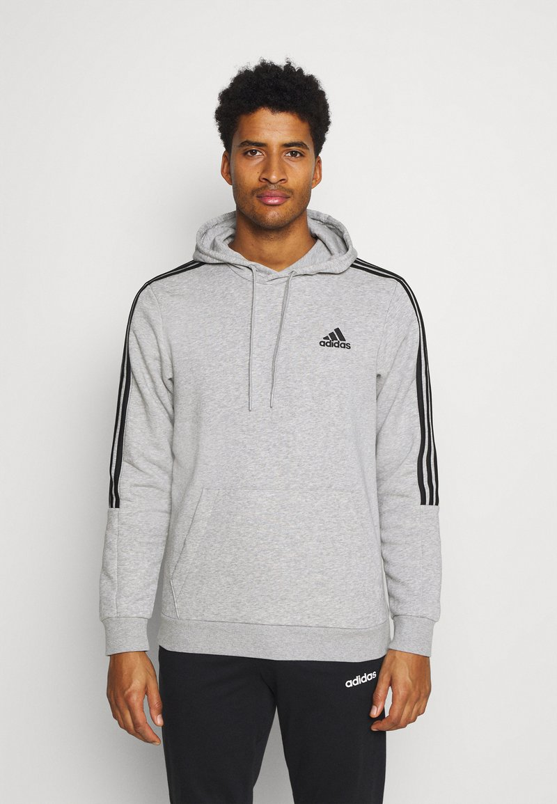 adidas Performance - CUT - Sweat à capuche - grey/black