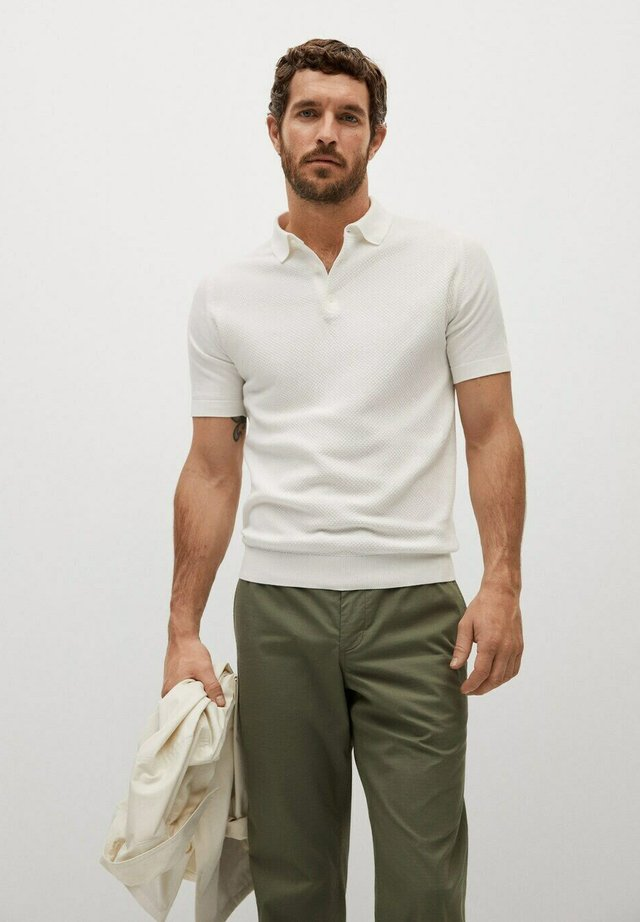 Poloshirts - weiß