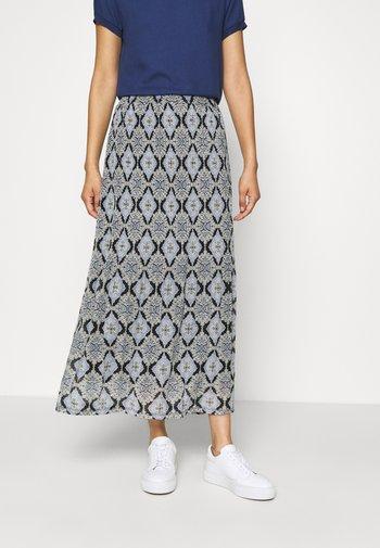 FQVIDA - Maxi skirt - true blue