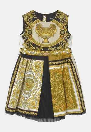 BAROQUE MOSAIC - Cocktail dress / Party dress - white/gold/black
