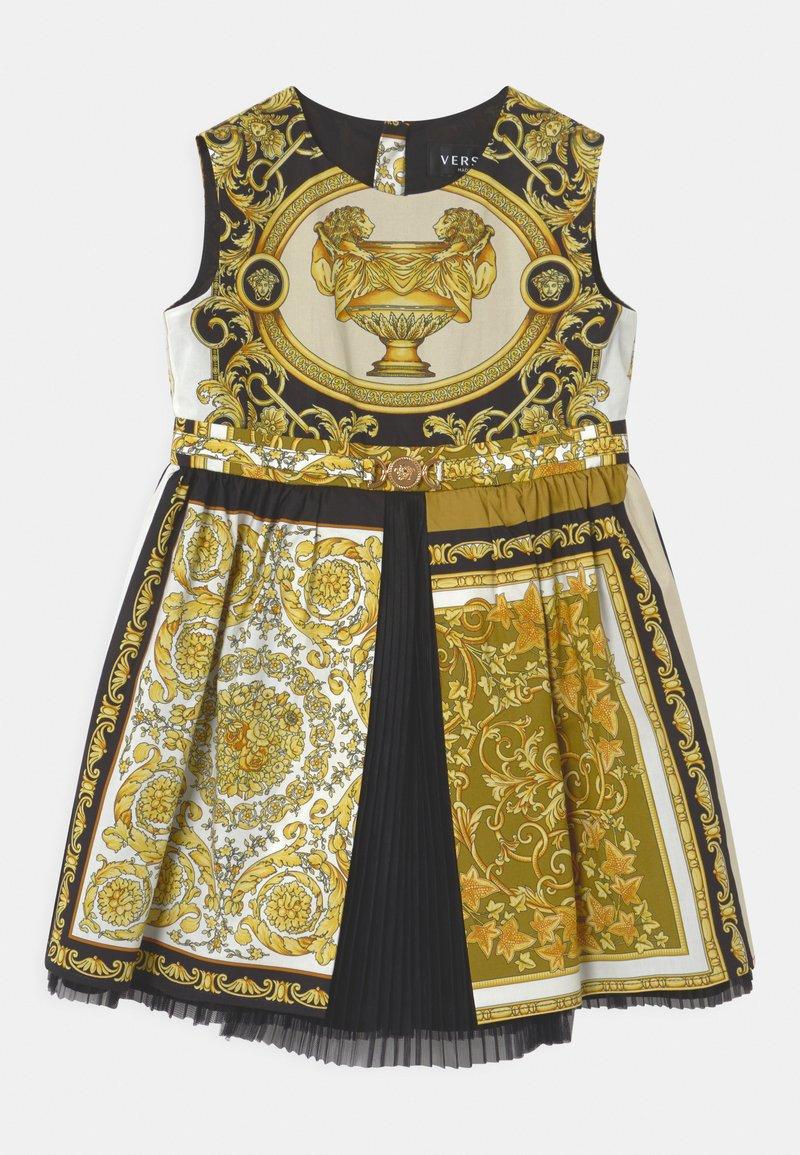 Versace - BAROQUE MOSAIC - Cocktail dress / Party dress - white/gold/black