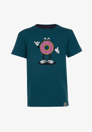 DONUT - T-shirts print - dark petrol