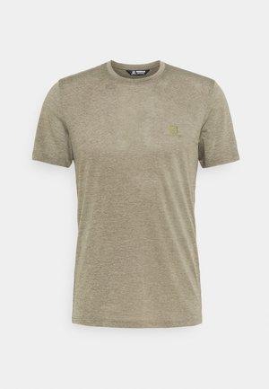 EXPLORE TEE - Basic T-shirt - olive night/heather