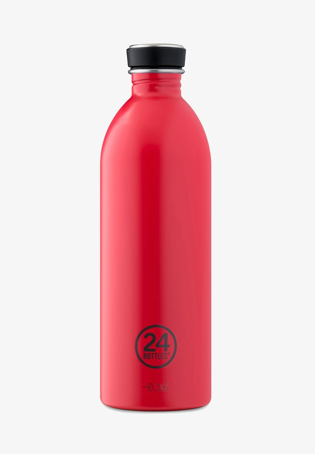 TRINKFLASCHE URBAN BOTTLE CHROMATIC HOT RED - Jiné doplňky - hot red