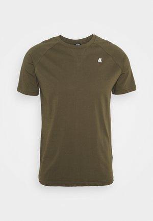 EDWING UNISEX - Basic T-shirt - green olive
