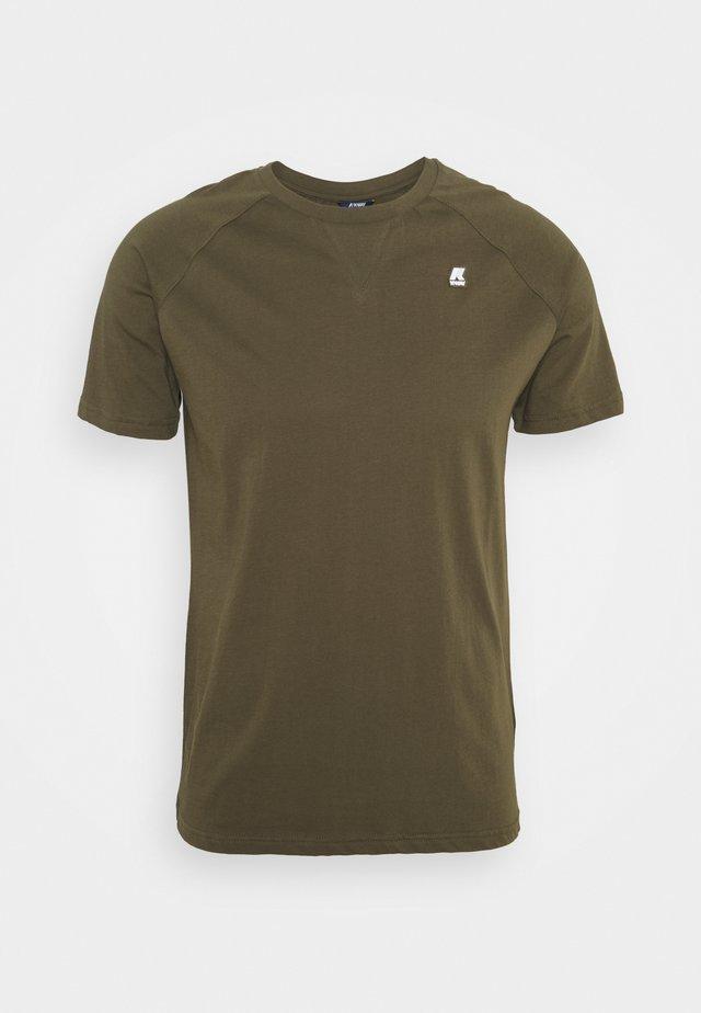EDWING UNISEX - T-shirt - bas - green olive