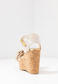 RAS - High heeled sandals - fuffy sand/kiddy gold - 5