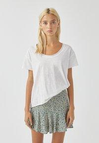 PULL&BEAR - Basic T-shirt - white - 0