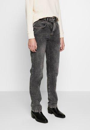 SHARI - Straight leg jeans - black