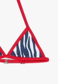 Claesen's - GIRLS TRIANGLE SET - Bikini - white/red - 2